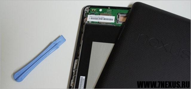 Как починить скрипящий экран планшета Google Nexus 7